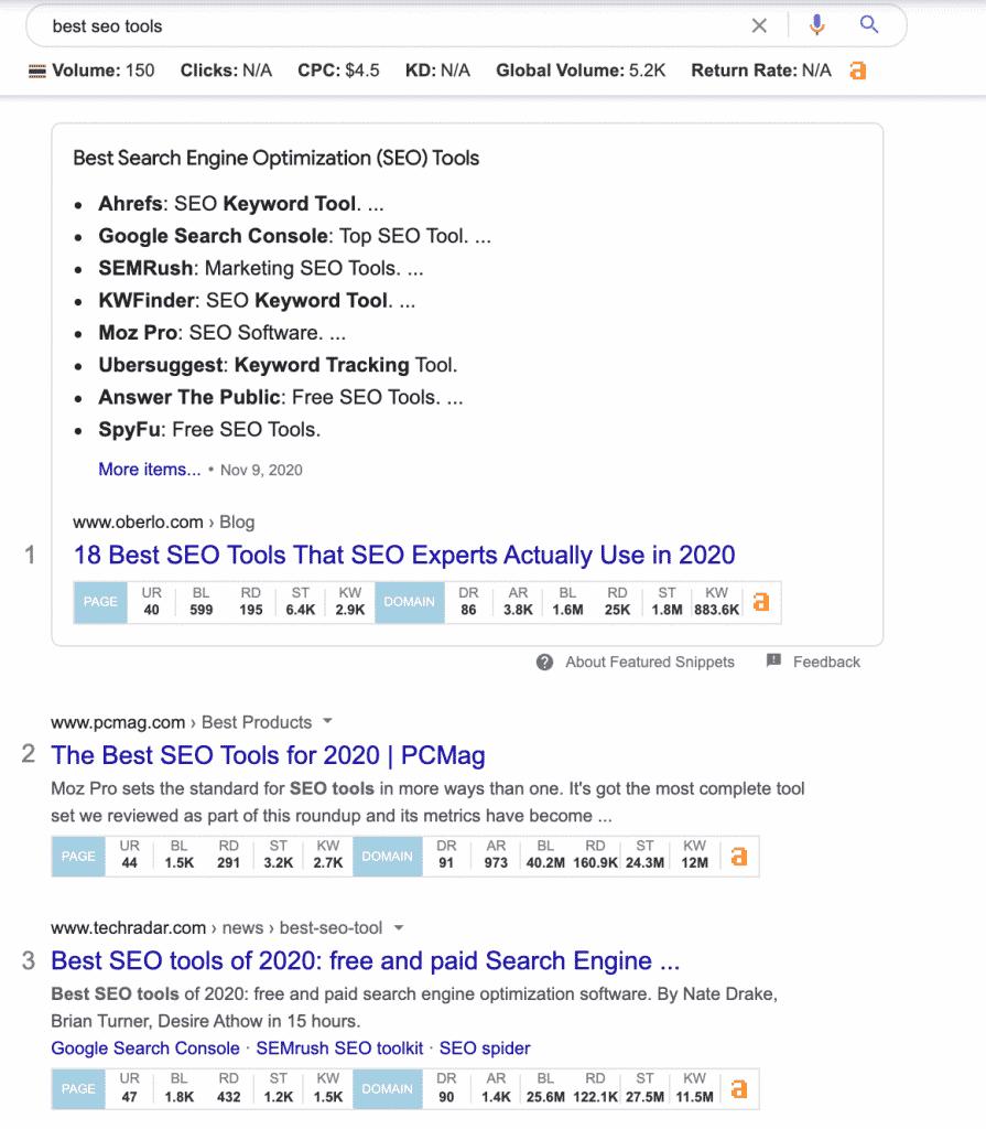 วิธีใช้ Ahrefs SEO Toolbar Chrome Extension
